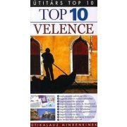 Velence útikönyv Top 10 Útitárs Panemex kiadó