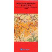Csukás-hegység térkép, Muntii Ciucas hegység térkép 1:30 000 Bel Alpin 2009