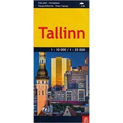 Tallinn térkép Jana Seta 1:10 000