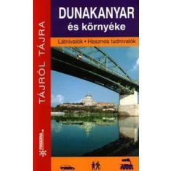 Dunakanyar útikönyv,  Dunakanyar és környéke útikönyv Frigória 1:50 000 2014