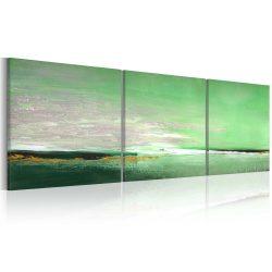 Kézzel festett kép - Tenger-zöld partján