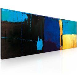 Kézzel festett kép - Fascination A kék szín