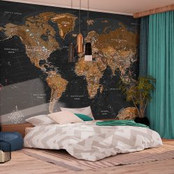 Fotótapéta - World: Stylish Map