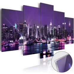 Akrilüveg kép - Purple Sky [Glass]