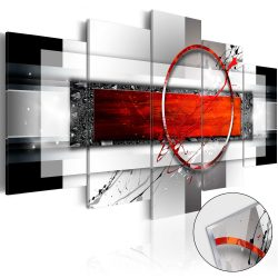 Akrilüveg kép - Carmine Missile [Glass]