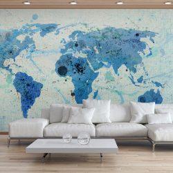 Fotótapéta térkép - Cruising and sailing -  The World map Világtérkép 350x270