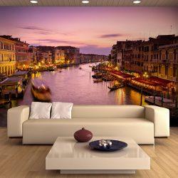Fotótapéta - Város szerelmeseit, Velence éjjel