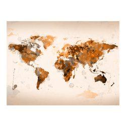 Fotótapéta - Világ barna árnyalatai