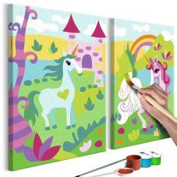 Kifestő - Fairytale Unicorns