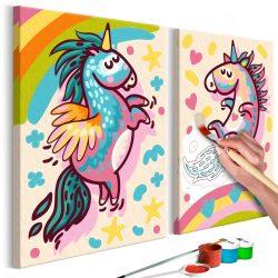 Kifestő - Chubby Unicorns