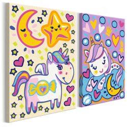 Kifestő - Unicorns (Good Morning & Good Night)