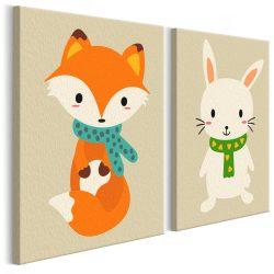 Kifestő - Fox & Bunny
