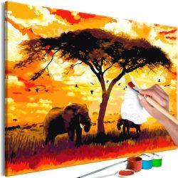 Kifestő - Africa at Sunset
