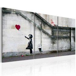 Kép - Mindig van remény (Banksy) - triptych 120x60