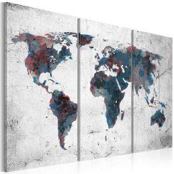 Kép - Felfedezetlen kontinens - triptych