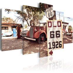 Kép - California - vintage style 100x50