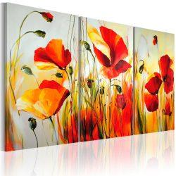 Kézzel festett kép - Red meadow