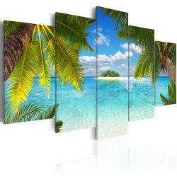 Kép - Paradise island 100x50