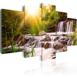 Kép - Forest Waterfall