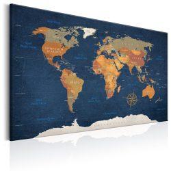Kép - World Map: Ink Oceans