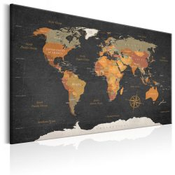 Kép - World Map: Secrets of the Earth