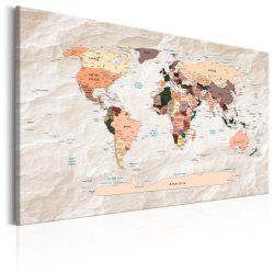 Kép - World Map: Stony Oceans