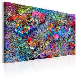 Kép - Map: Jackson Pollock inspiration