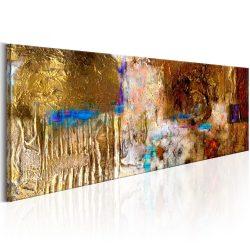 Kézzel festett kép - Golden Structure