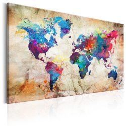 Kép - World Map: Urban Style