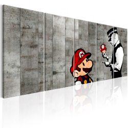 Kép - Graffiti on Concrete 200x80