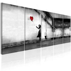 Kép - Banksy: Runaway Balloon 200x80