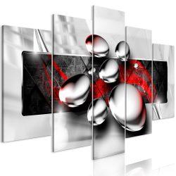Kép - Shiny Stones (5 Parts) Wide Red