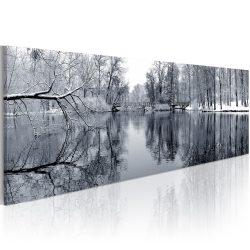 Kép - landscape: winter 120x40