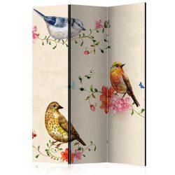 Paraván - Bird Song [Room Dividers]