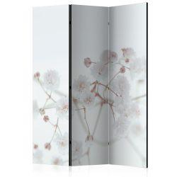 Paraván - White Flowers [Room Dividers]