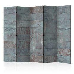 Paraván - Turquoise Concrete II [Room Dividers] 225x172