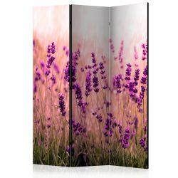 Paraván - Lavender in the Rain [Room Dividers]