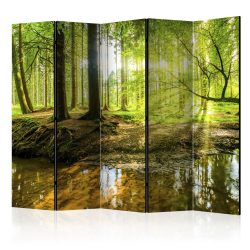 Paraván - Forest Lake II [Room Dividers] 225x172