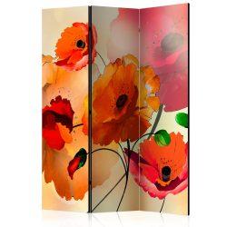 Paraván - Velvet Poppies [Room Dividers]