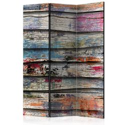Paraván - Colourful Wood [Room Dividers]