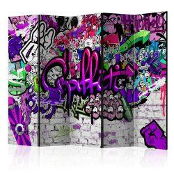 Paraván -  Purple Graffiti [Room Dividers]