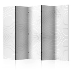 Paraván - Room divider - White waves II 225x172