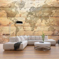 Fotótapéta - Map on Boards