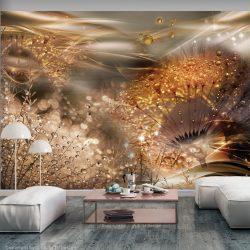 Fotótapéta - Dandelions' World (Gold)