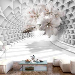 Fotótapéta - Flowers in the Tunnel