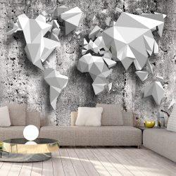 Fotótapéta - World Map: Origami