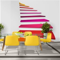 Fotótapéta - Colorful stairs