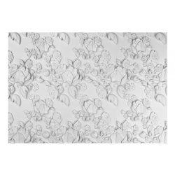 Fotótapéta - White ornament: roses