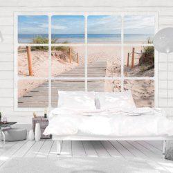 Fotótapéta - Window & beach