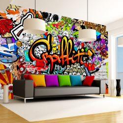 Fotótapéta - Colorful Graffiti